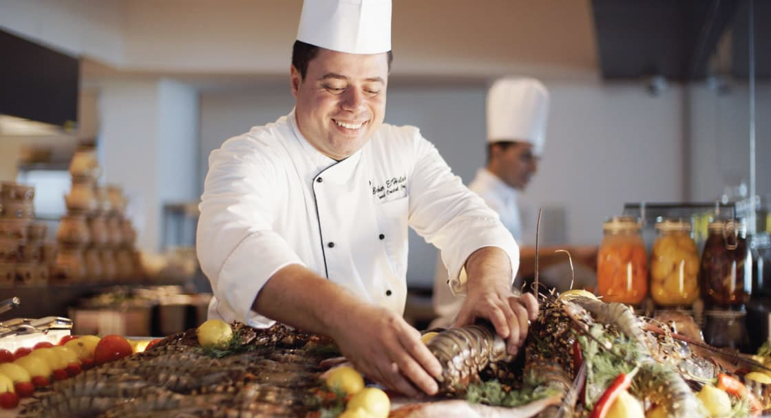 Talented Chefs at Riva Italian Restaurant in Doha
