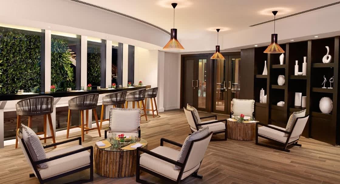 Zest Restaurant in Doha Dining Setup