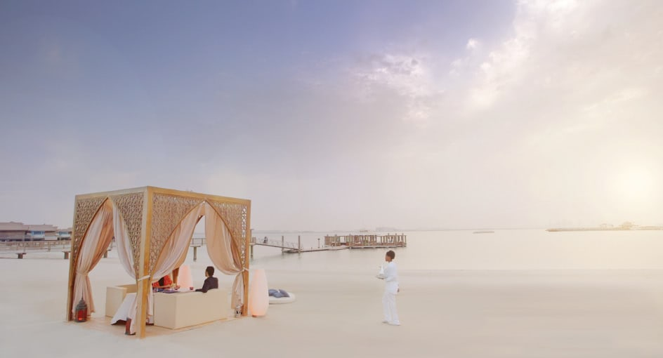 Dining by Design on the Beach in Doha