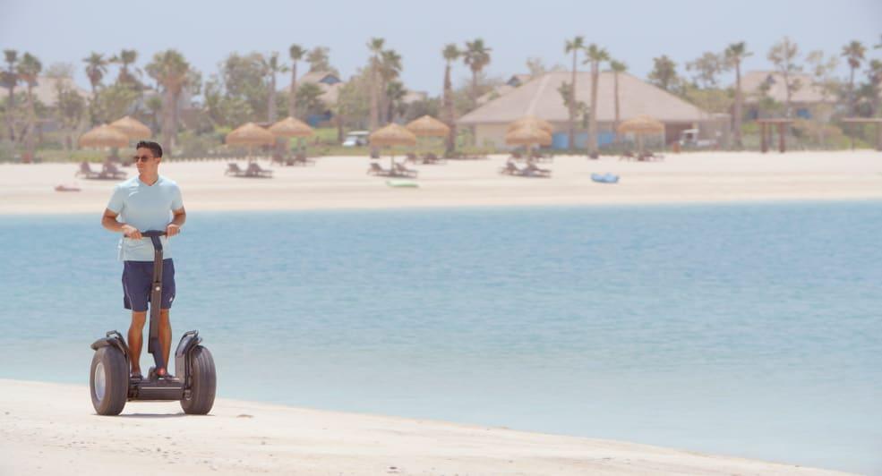 Segway Rides along the Coast of Banana Island Resort Doha