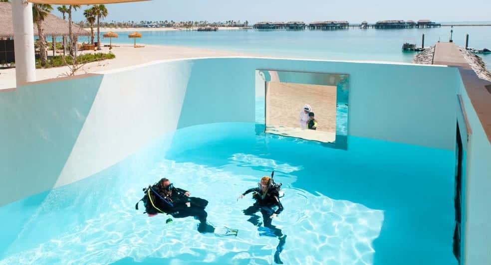 Diving Centre at Banana Island Resort Doha