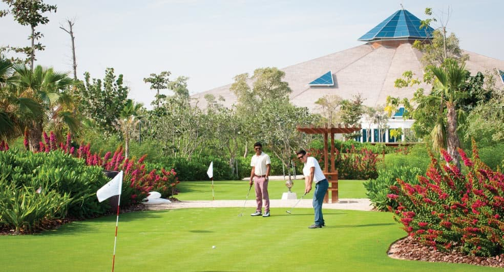 Golf Playing Area in Doha