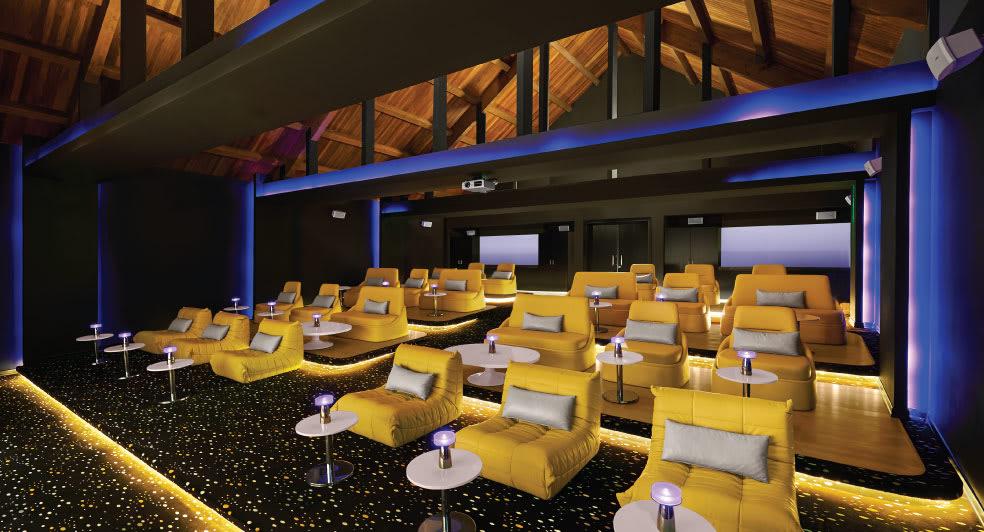 Banana Island Resort Doha Cinema Venue