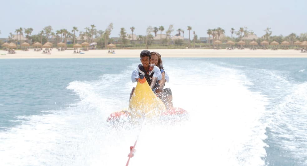 Banana Ride Experience on Ocean in Doha