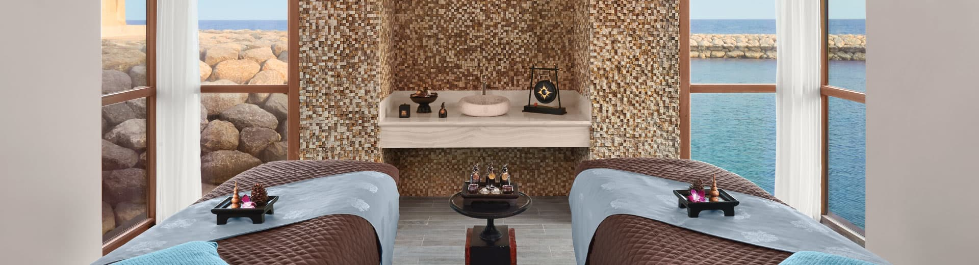 Couple Massage Room at Banana Island Resort Doha
