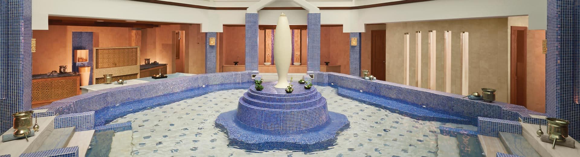 Banana Island Resort Doha Hammam Area