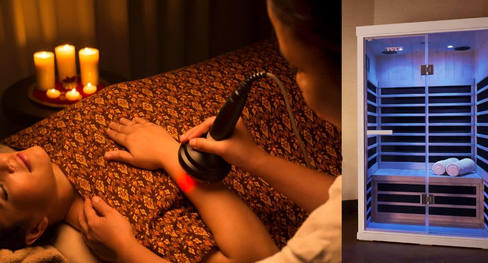 Infrared Detox and Contouring at Banana Island Resort Doha