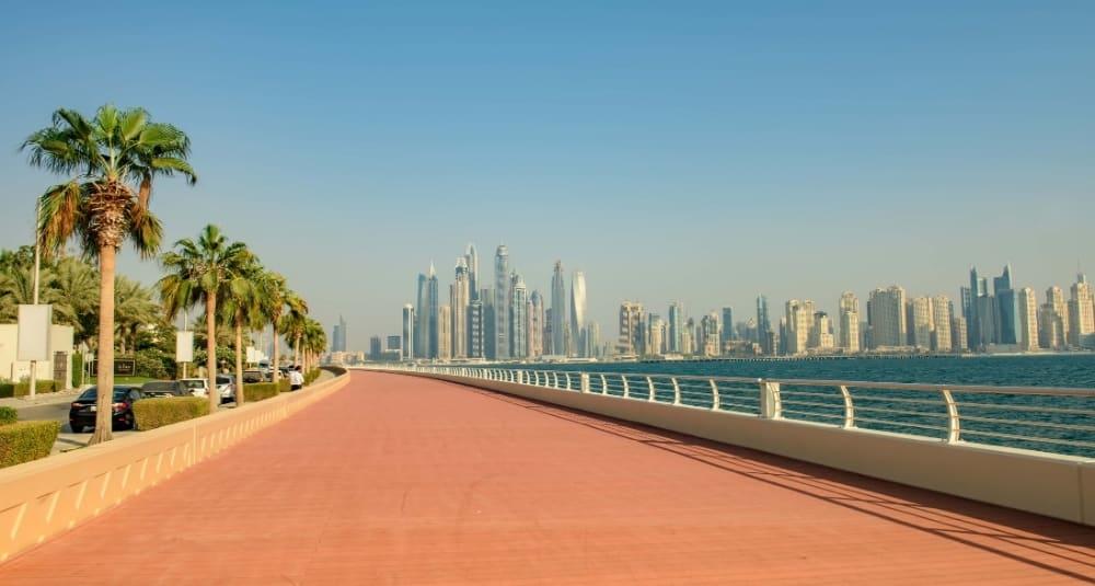The Palm Jumeirah Boardwalk