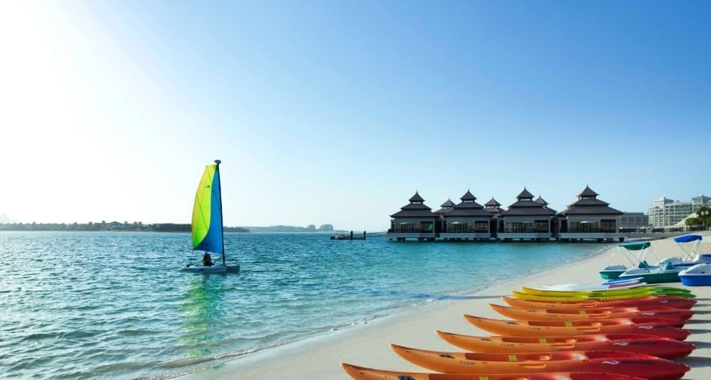 Water Sports Activities at The Palm Jumeirah Dubai