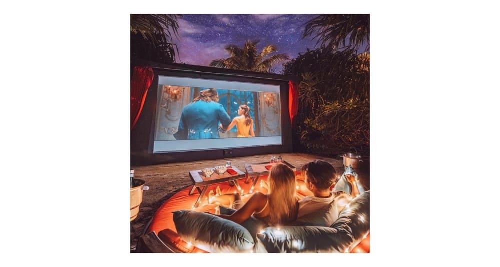 Cinema Under the Stars in Maldives