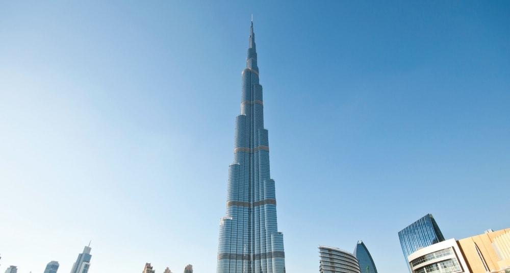 The iconic Burj Khalifa