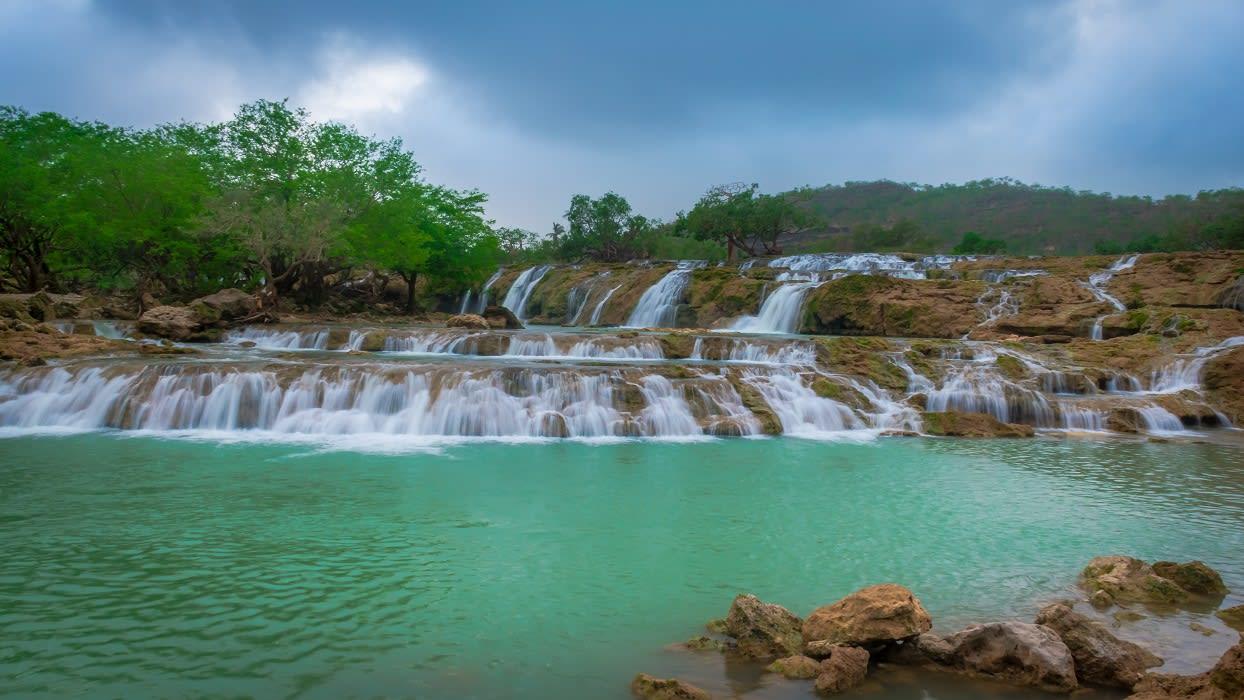 Wadi Darbat Falls - Credit Siby Joseph