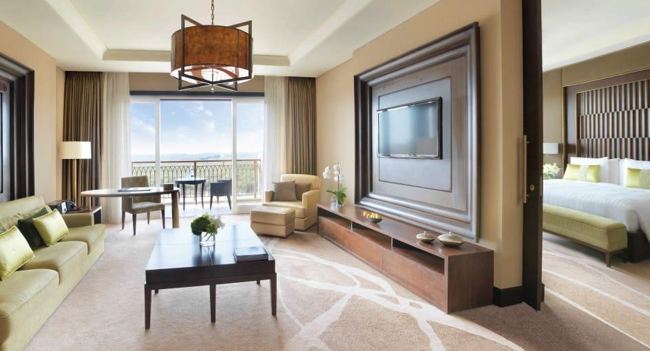 Kasara Mangroves Suite Living Room of Eastern Mangroves Abu Dhabi Hotel