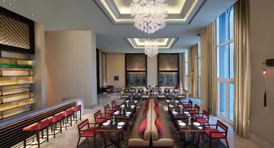 Table Setup of Ingredients Restaurant in Abu Dhabi