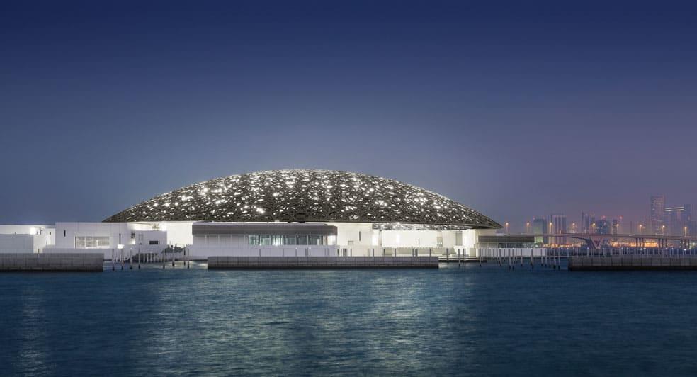 Louvre Museum near Eastern Mangroves Hotel Abu Dhabi