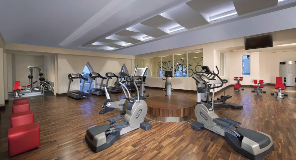 The Workout Room at Abu Dhabi Hotel