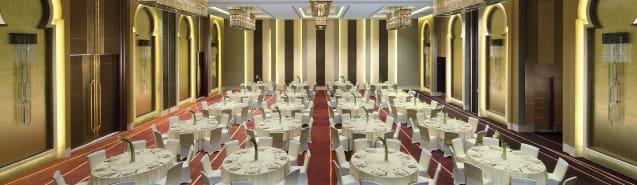 Spacious Ballroom of Abu Dhabi Resort