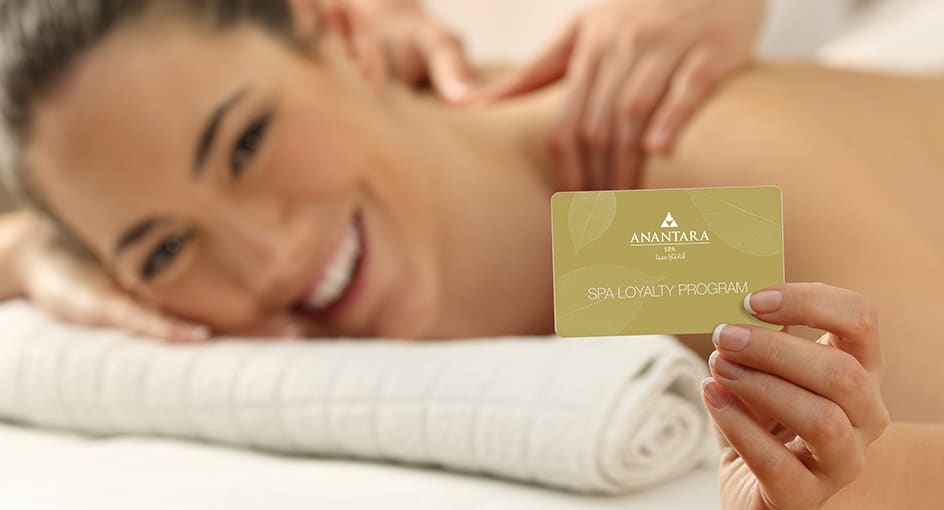 Spa Loyalty Cards at Eastern Mangroves Hotel