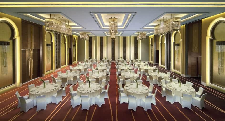 Ballroom Setup for an Abu Dhabi Wedding