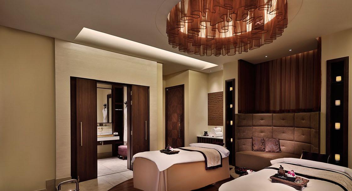 Couple Spa Treatment Room Abu Dhabi Hotel