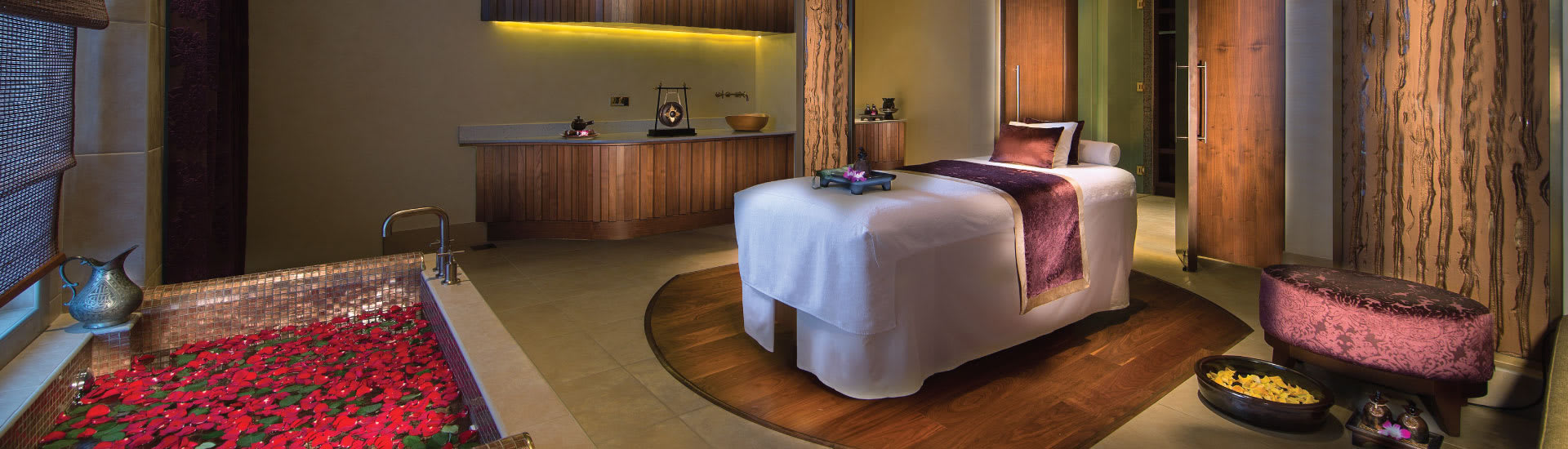 Single Treatment Room of the Resort in UAE