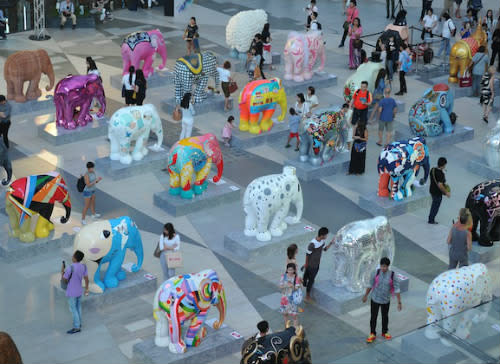 Have You Herd? Anantara's Elephant Parade Bangkok Final Move To Lumpini Park