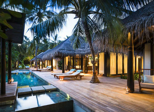 Anantara Kihavah Maldives Villas Unveils Three Bedroom Beach Pool Residence