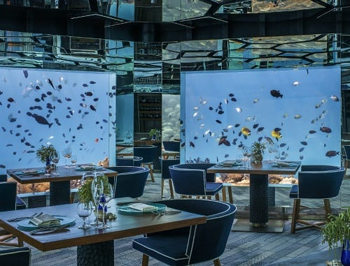 Anantara Kihavah's SEA Named World's Leading Underwater Hotel Restaurant at the World Travel Awards 2017