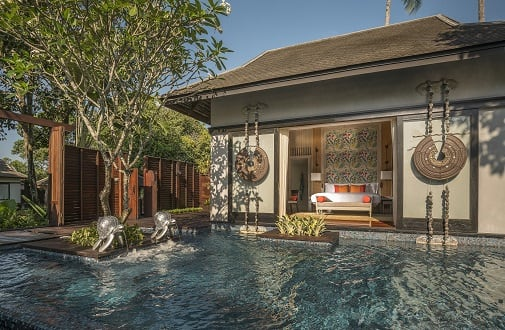 Anantara Mai Khao Phuket Villas Features Phuket First Jim Thompson Silk Inspired Villa