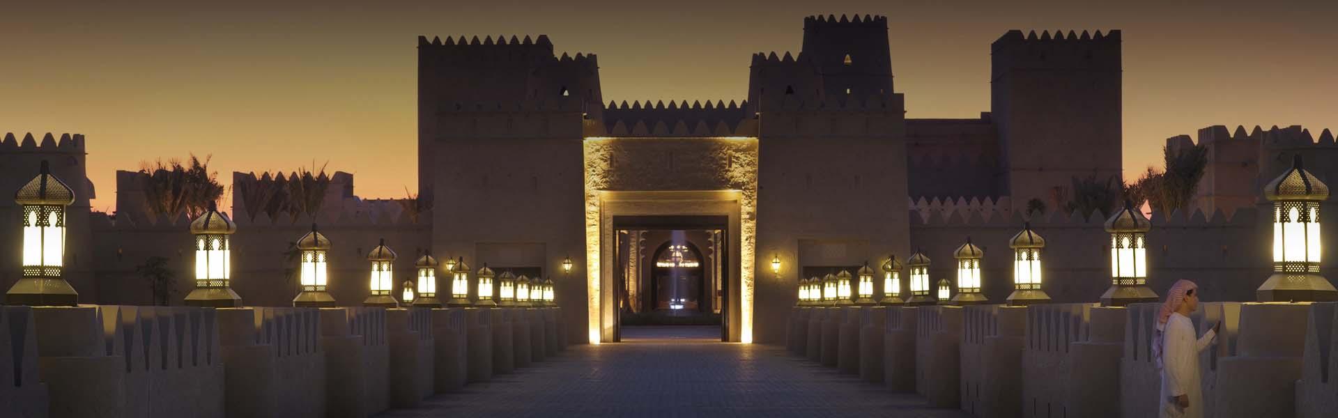 Liwa Desert Resort | Location of Qasr Al Sarab Resort by Anantara