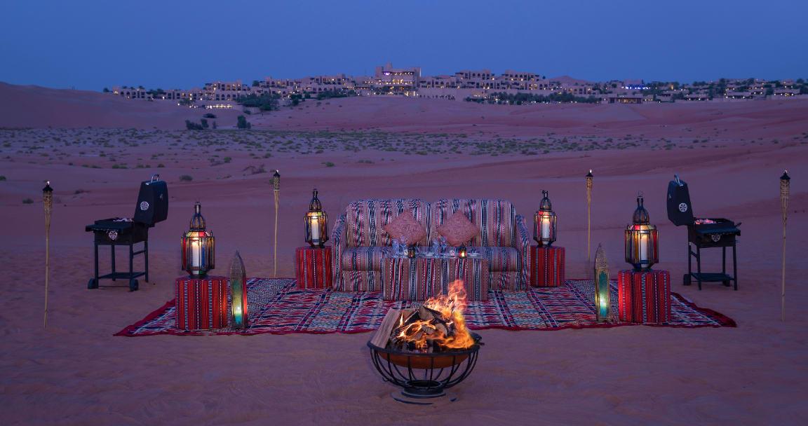Abu Dhabi Desert Outdoor BBQ Experience
