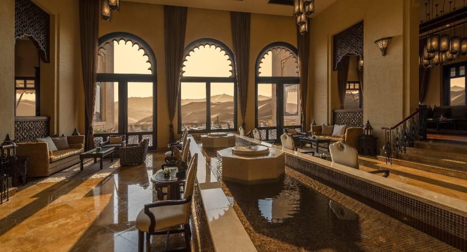 Qasr Al Sarab Desert Resort Reception Area