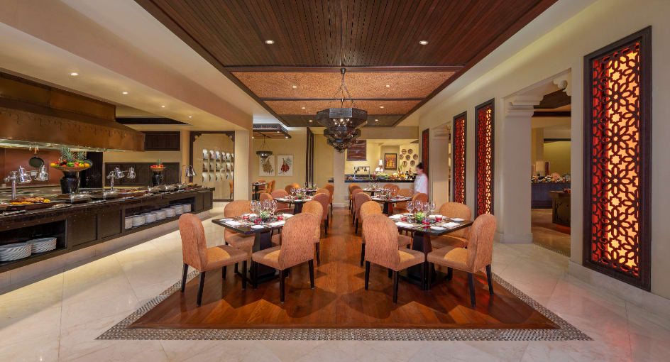 Interior Design of Al Waha Restaurant at Abu Dhabi Resort