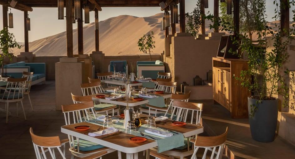 Ghadeer Poolside Restaurant Outdoor Seating