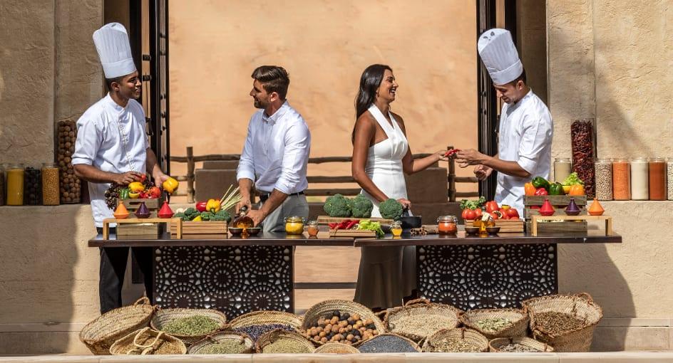 Cooking Classes for Couples at Qasr Al Sarab Desert Resort