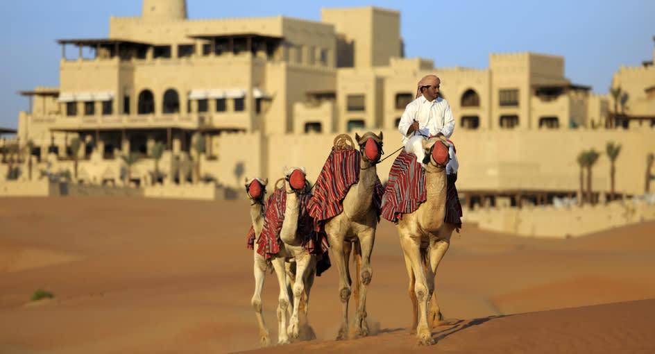 Camel Trekking Experience in Abu Dhabi