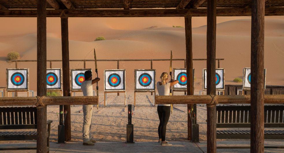 Desert Archery Experience in Abu Dhabi