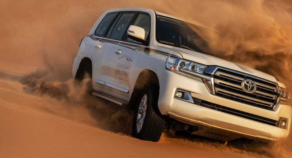 Dune Bashing in the Abu Dhabi Desert