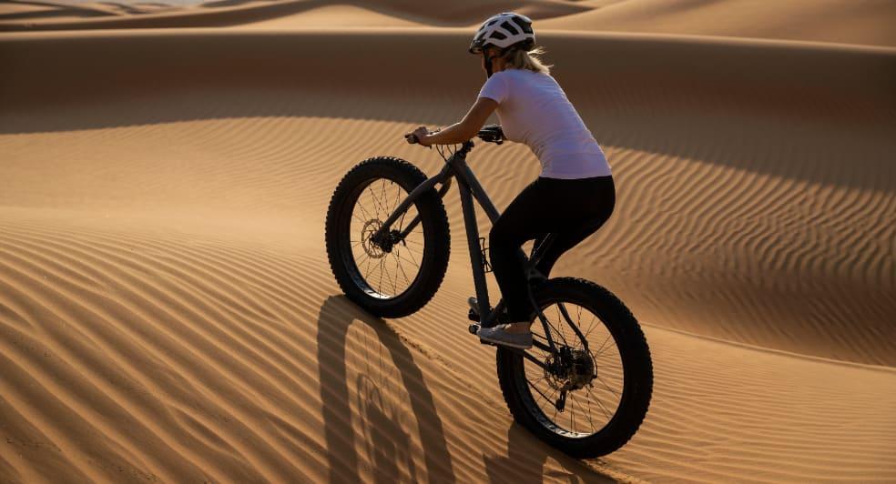 Fat Bike Abu Dhabi Desert Experience