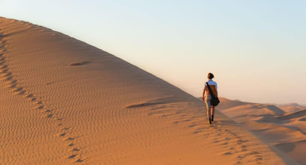 Desert Walks with Qasr Al Sarab Desert Resort Abu Dhabi