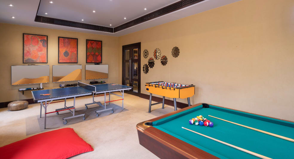 Abu Dhabi Teens Club with Pool Table and Table Tennis