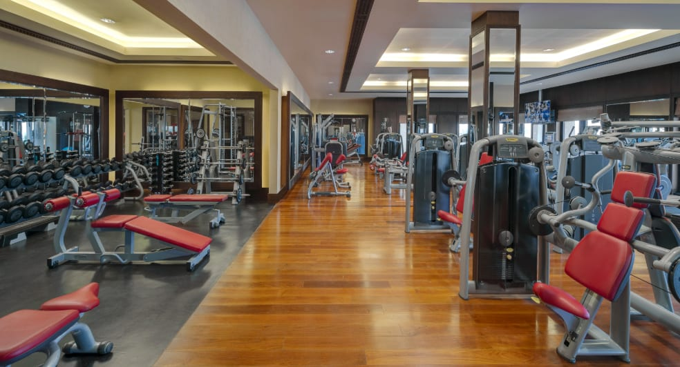 Modern Fitness Centre of Qasr Al Sarab Desert Resort
