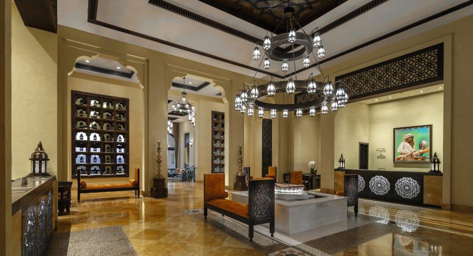 Reception Area of Anantara Abu Dhabi Resort