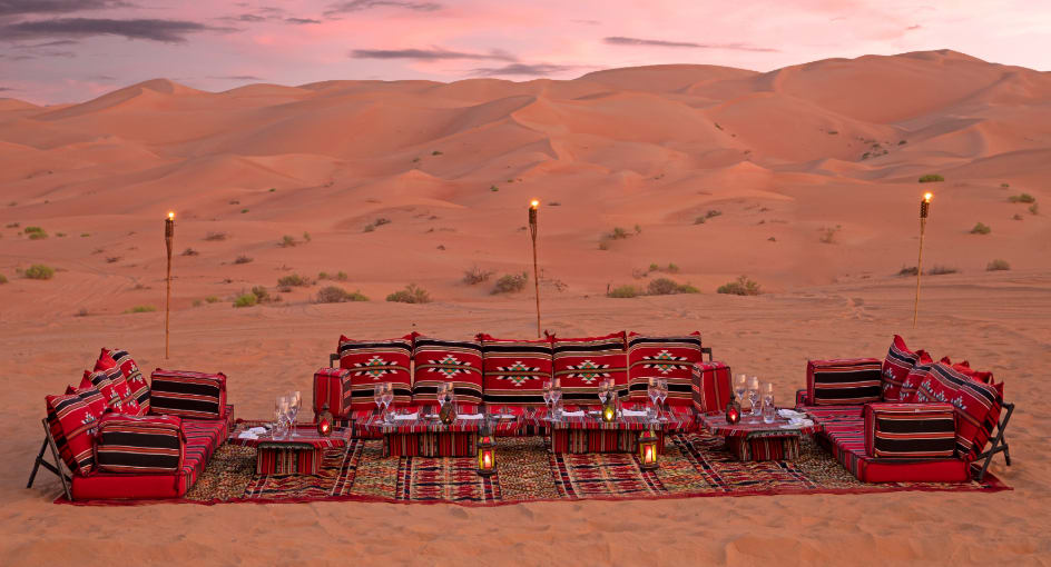 Desert Dining Experience in Abu Dhabi