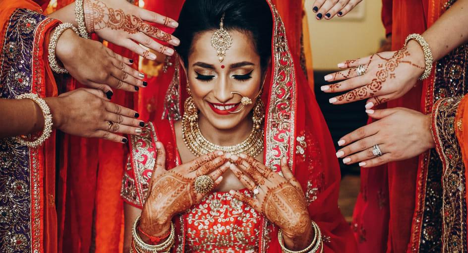 Indian Wedding Ceremony at Qasr Al Sarab Desert Resort