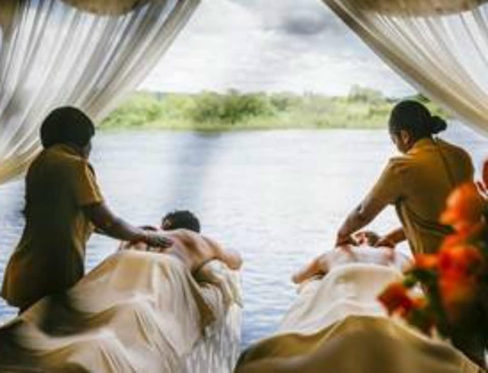 Zambezi River Spa Experience Opens at  Royal Livingstone Victoria Falls Zambia Hotel by Anantara