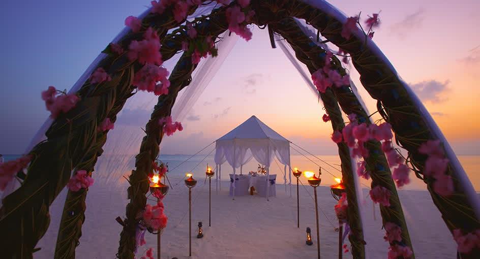 Get Married by the Ocean at Anantara Dhigu