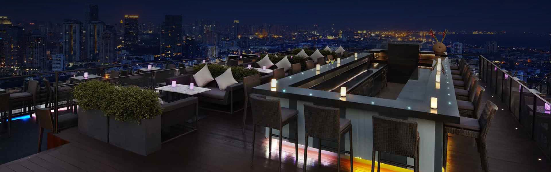 Bangkok Rooftop Restaurant | ZOOM Sky Bar & Restaurant at Anantara