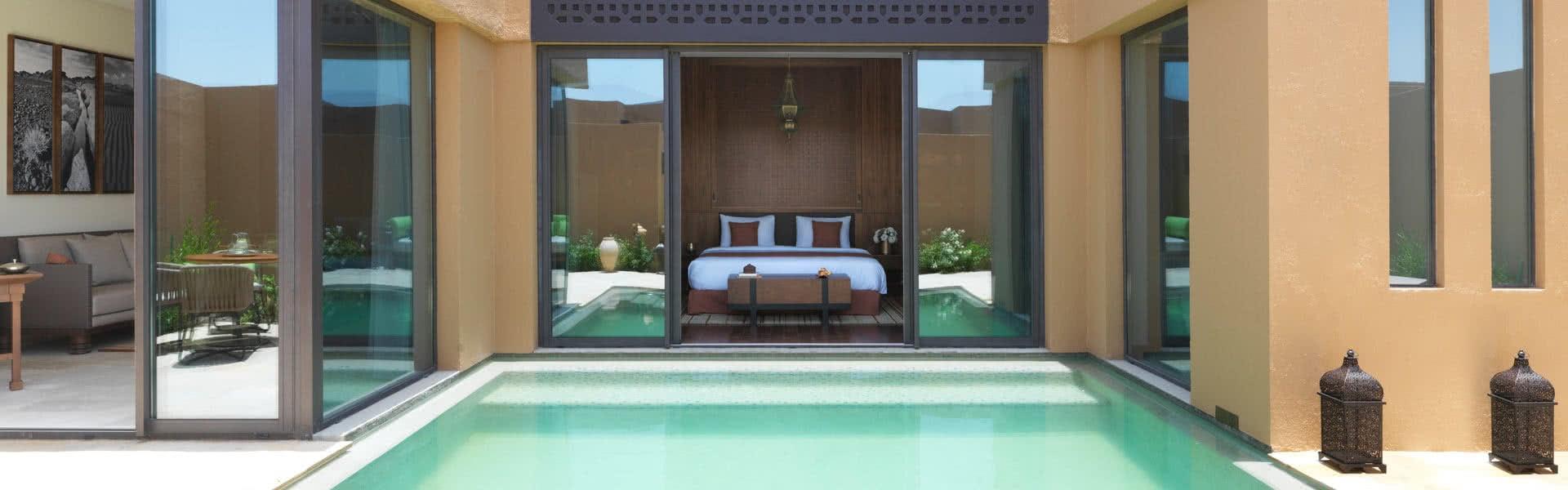 Pool Villa Luxury In Oman.