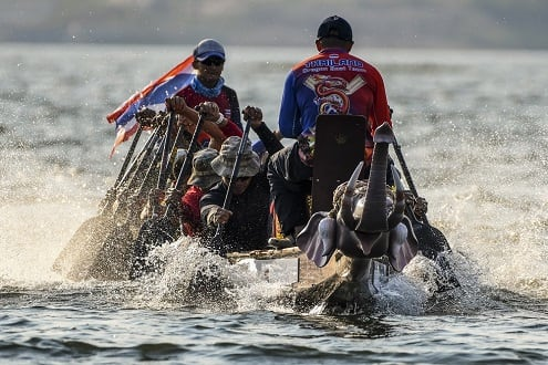 Anantara Hotels Announces Thailand's Inaugural  Elephant Boat Race & River Festival